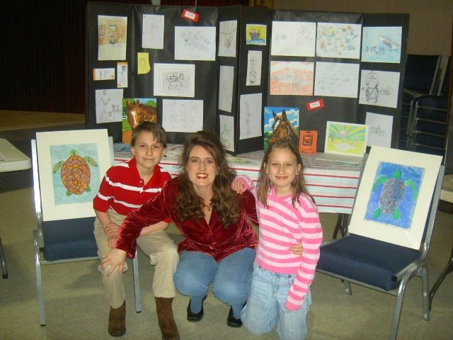 Homeschool Co-Op Art Fair