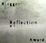Blogger Reflection Award Icon