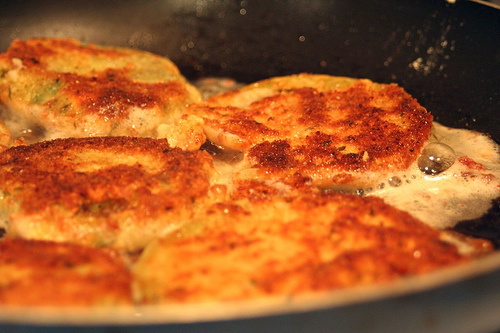 fried green tomatoes: how to