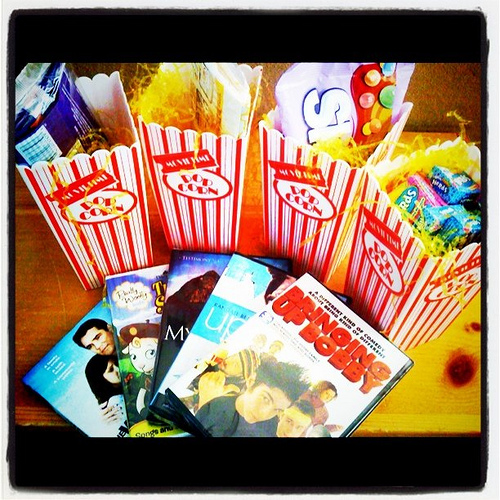 Family movie nite blog give-away...