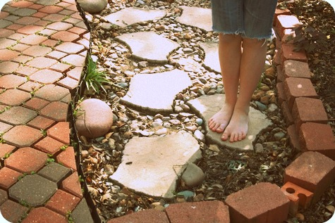 Feet on the Path