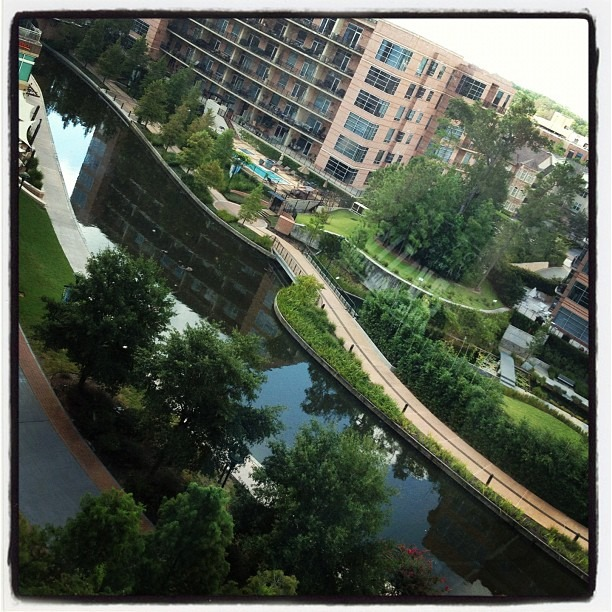 Wish I could take this view home. #thewoodlands Waterway #marriott  #thsccon #thsc2012