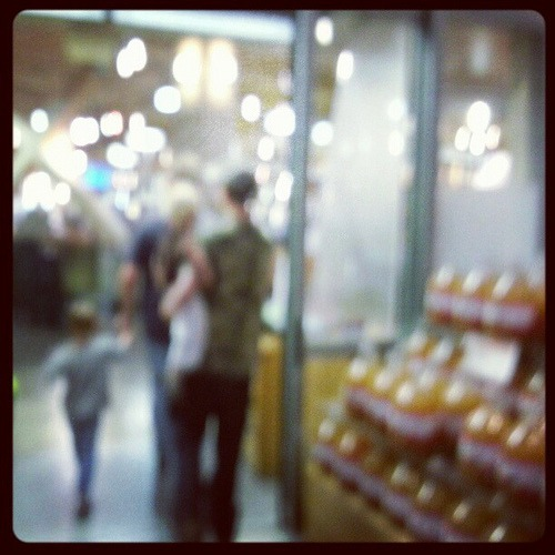 Late night grocery run. #bokeh #life