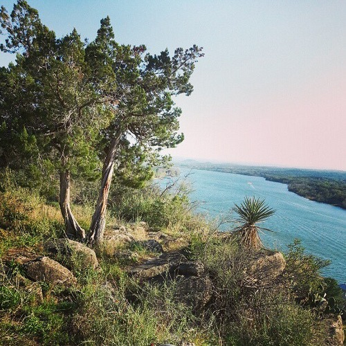 Colorado River in the Texas Hill Country near Marble Falls #Igtexas