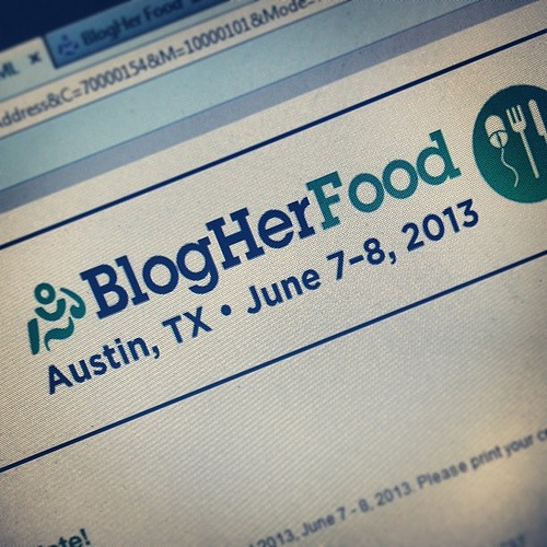 Here I come! #blogherfood #yummy!