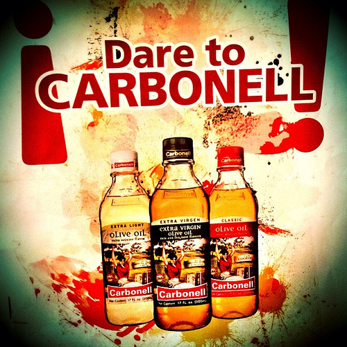 Dare to Carbonell #spon #oliveoil #foodie  Recipe for Spanish Paella, salad, perfect baked potatoes, and non-alcoholic sparkling sangria by Sprittibee