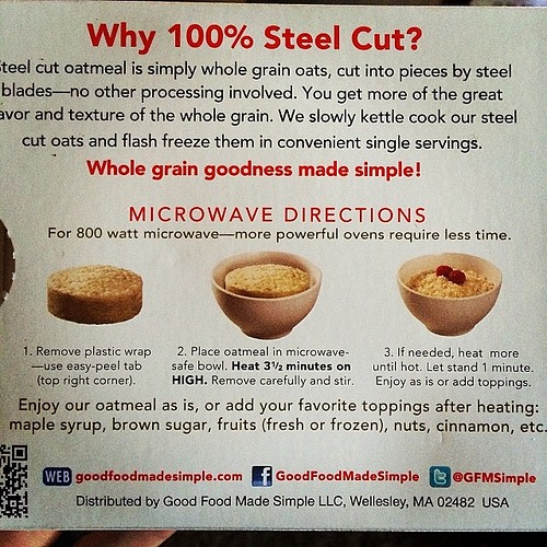 Good Food Made Simple review by @Sprittibee, healthy frozen packaged foods