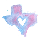 Sprittibee's Watercolored Texas
