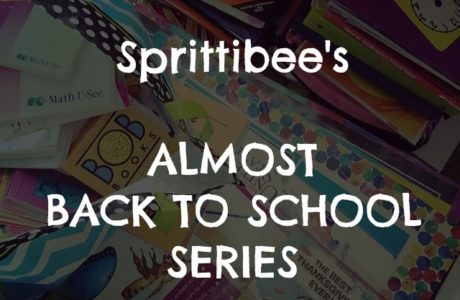 Sprittibee's Almost Back to School Series