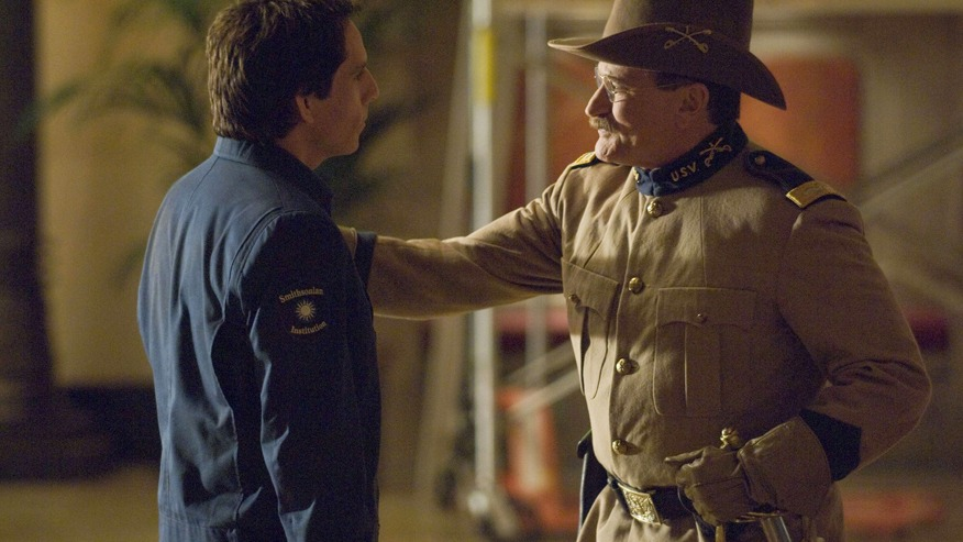 robin williams night at the museum 3