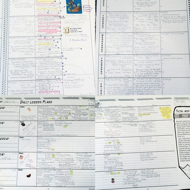 Teacher Planner Images