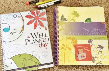 Finding a Homeschool Planner that Works for You
