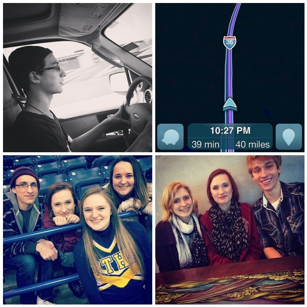 Driver's Ed, Out of State Trip, Friends