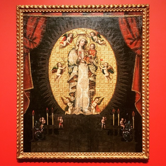Our Lady of La Antiqua - 17-18th Century, Unknown at Blanton Museum of Art Austin