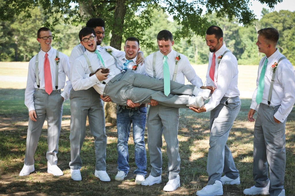 Longview Texas Wedding via Sprittibee Photography