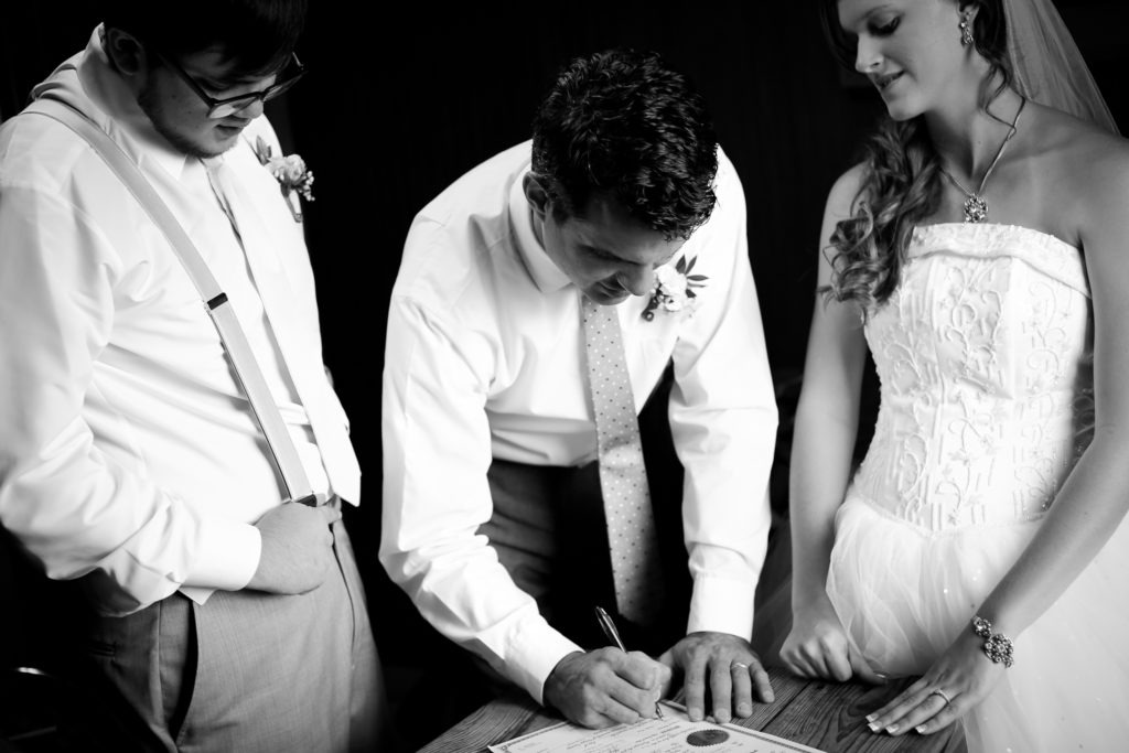 Marriage License Longview Texas Wedding via Sprittibee Photography