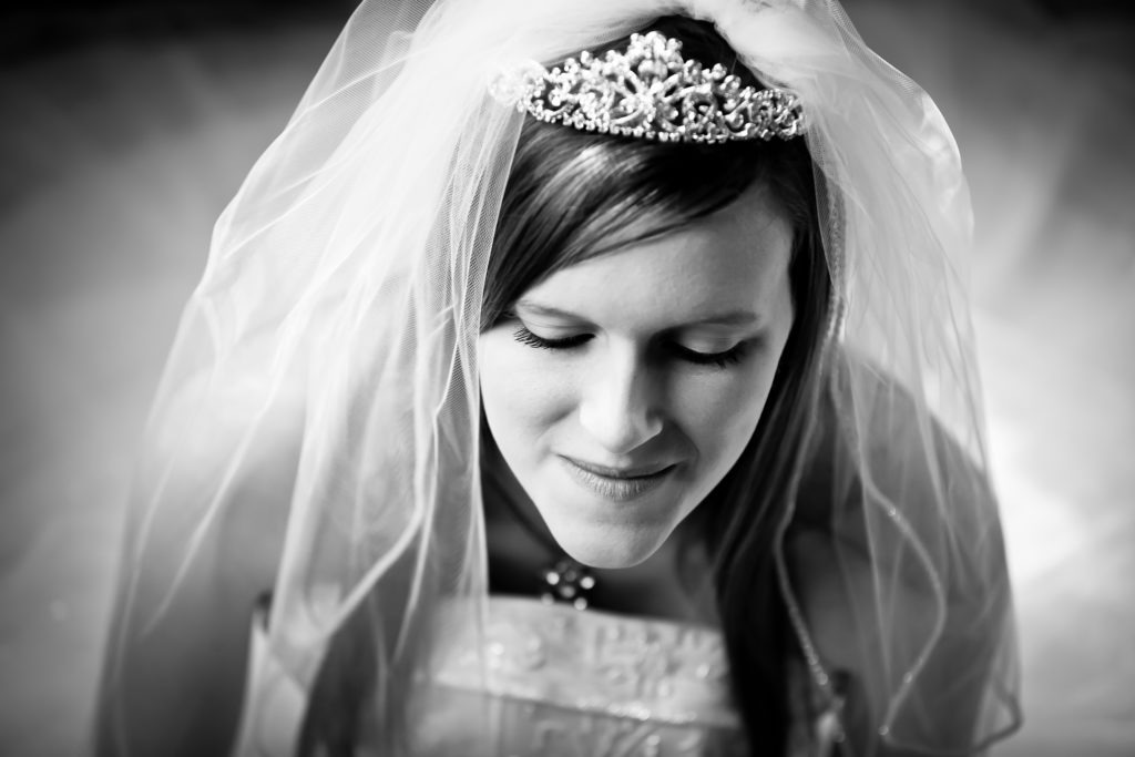 Tara Bridal Portrait via Sprittibee Photography