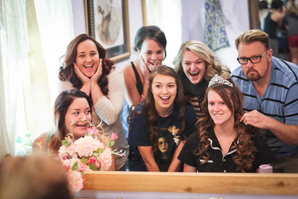 Tara and Tyler Longview Wedding via Sprittibee Photography