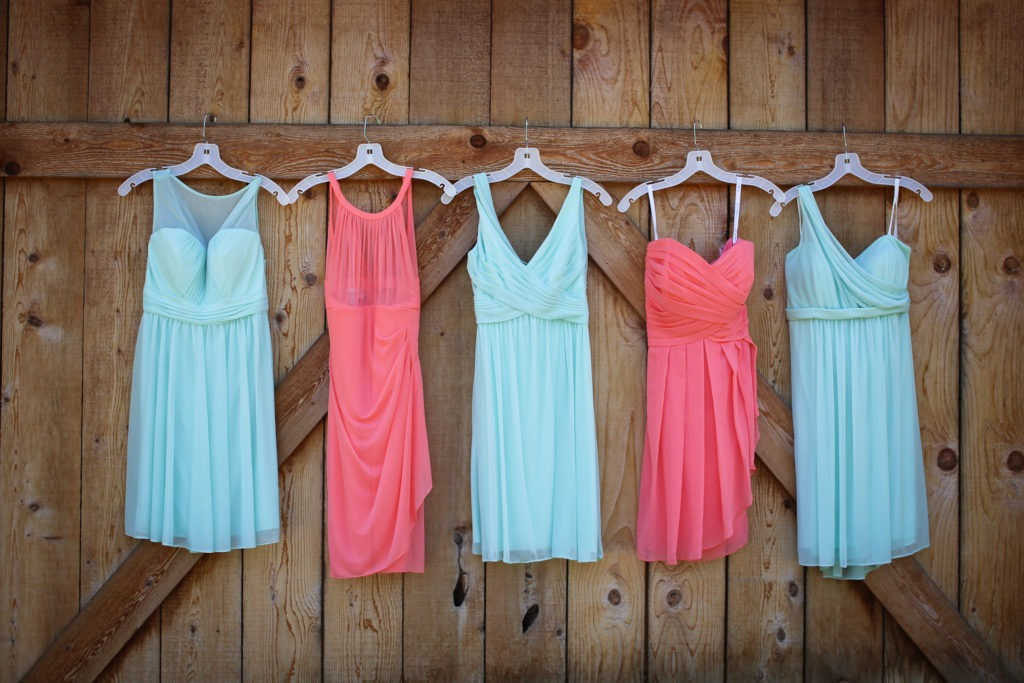 Bridesmaid Dresses via Sprittibee Photography