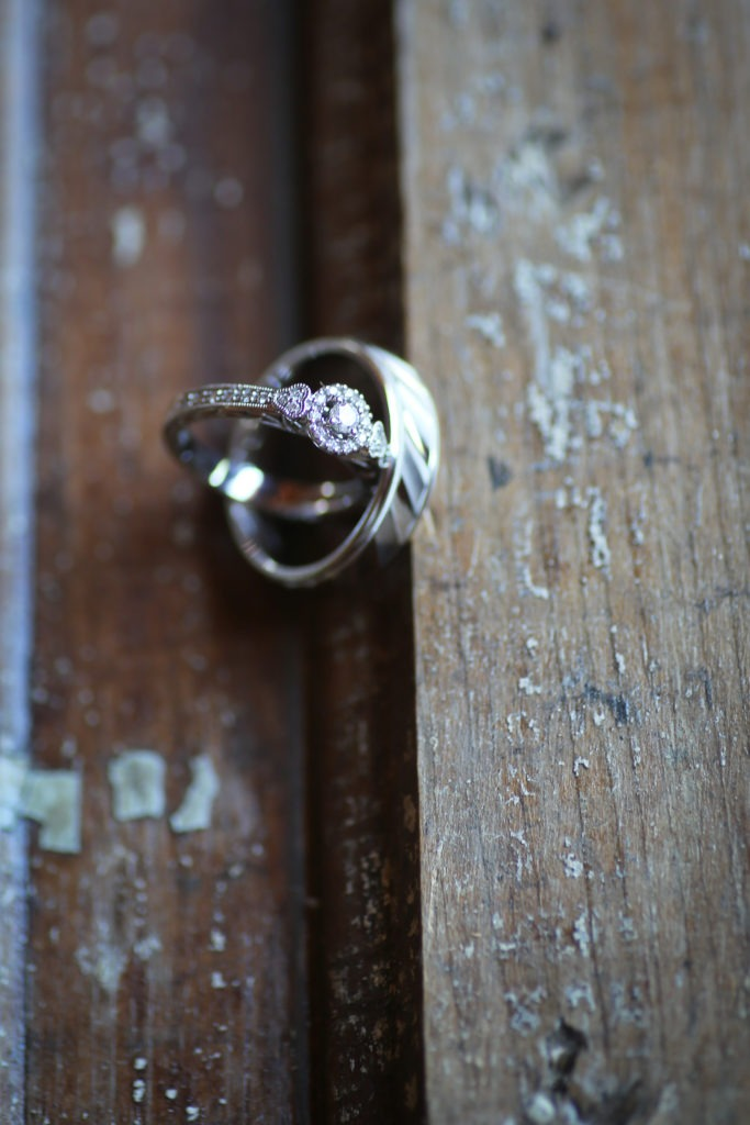 Rustic Wedding Ringshot via Sprittibee Photography