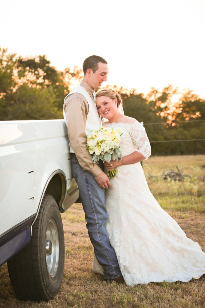 Central Texas Rustic Country Wedding via Sprittibee Photography