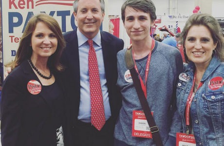 Ken Paxton and his Pistol Packin' Mama