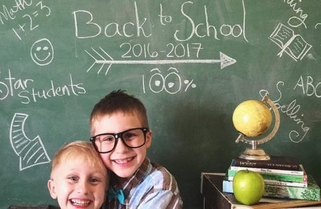 Sprittibee's Back to School Photo 2016-17