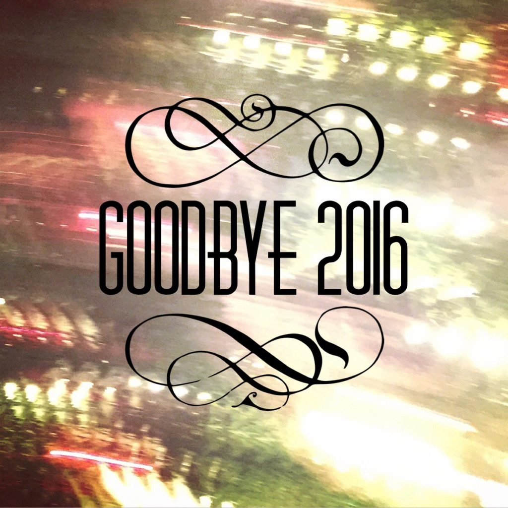 Goodbye 2016 by Sprittibee