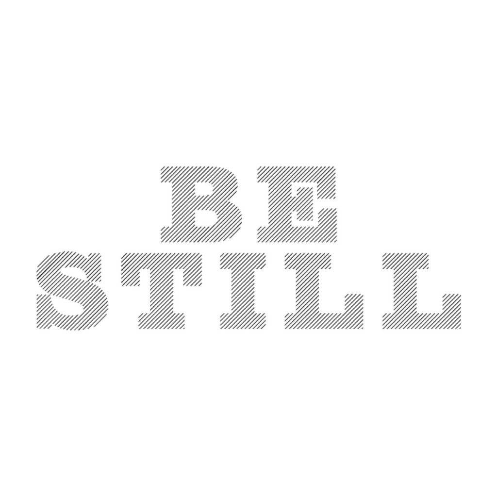 Be Still - let God fight for you @sprittibee
