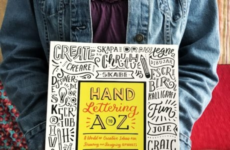 Hand Lettering A to Z Book Give-Away