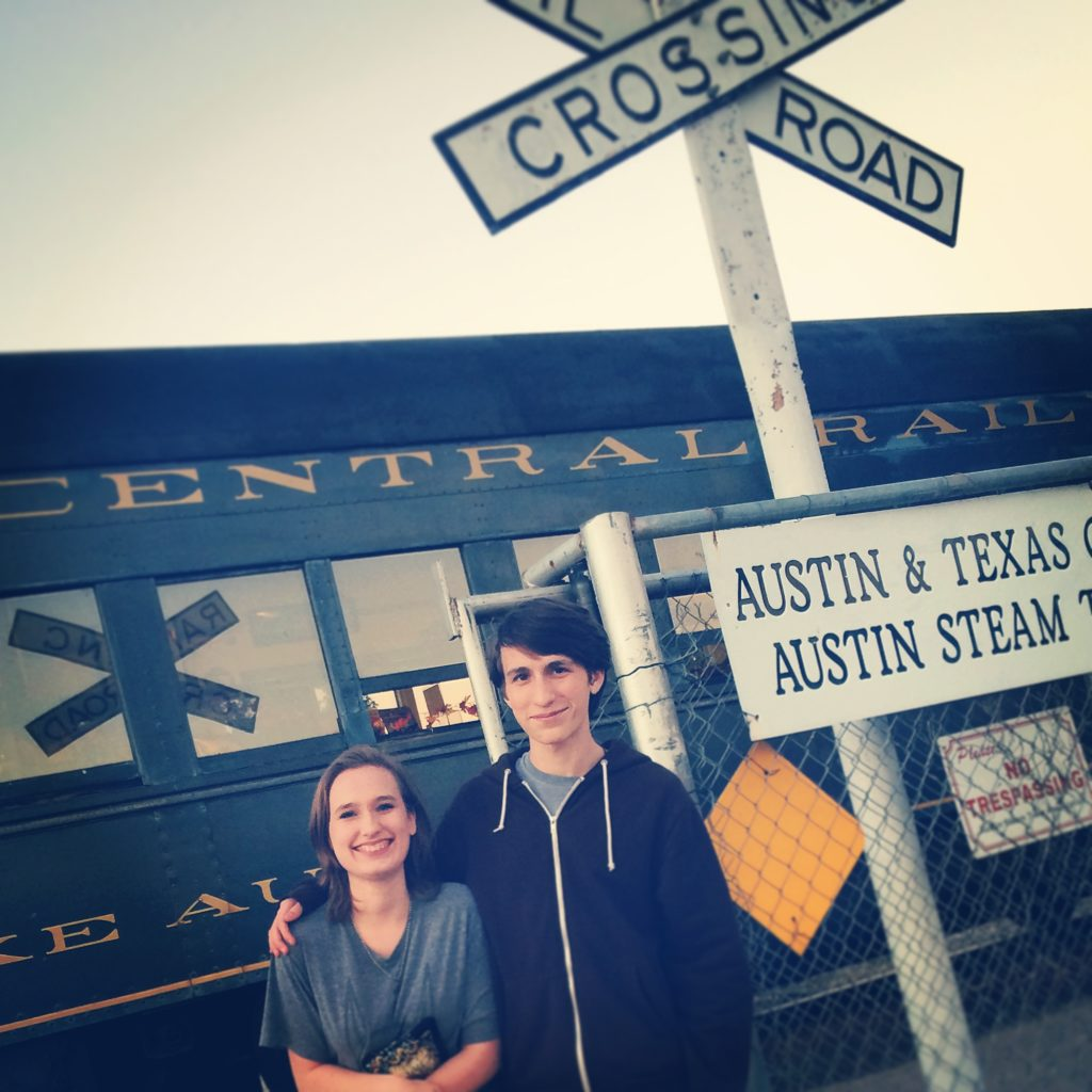 Teens and Trains by @sprittibee