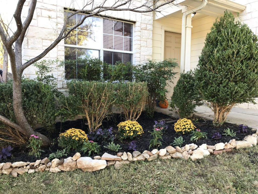 Fall Flower Bed Update