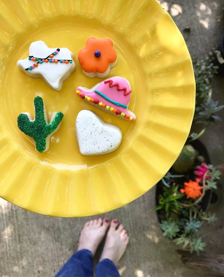 Texas and Mexican Cookies @sprittibee