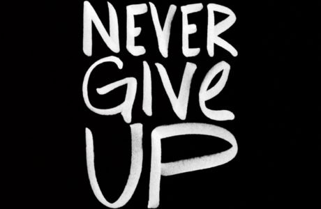 Never Give Up @sprittibee