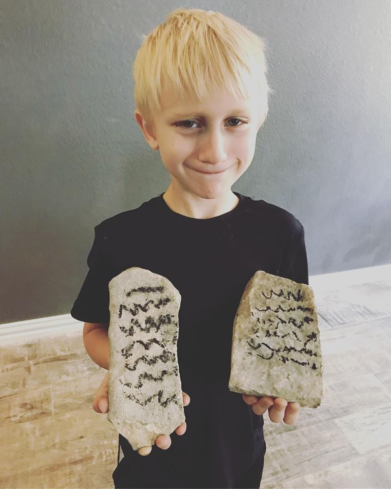 Ten Commandments and My Little Moses via @sprittibee