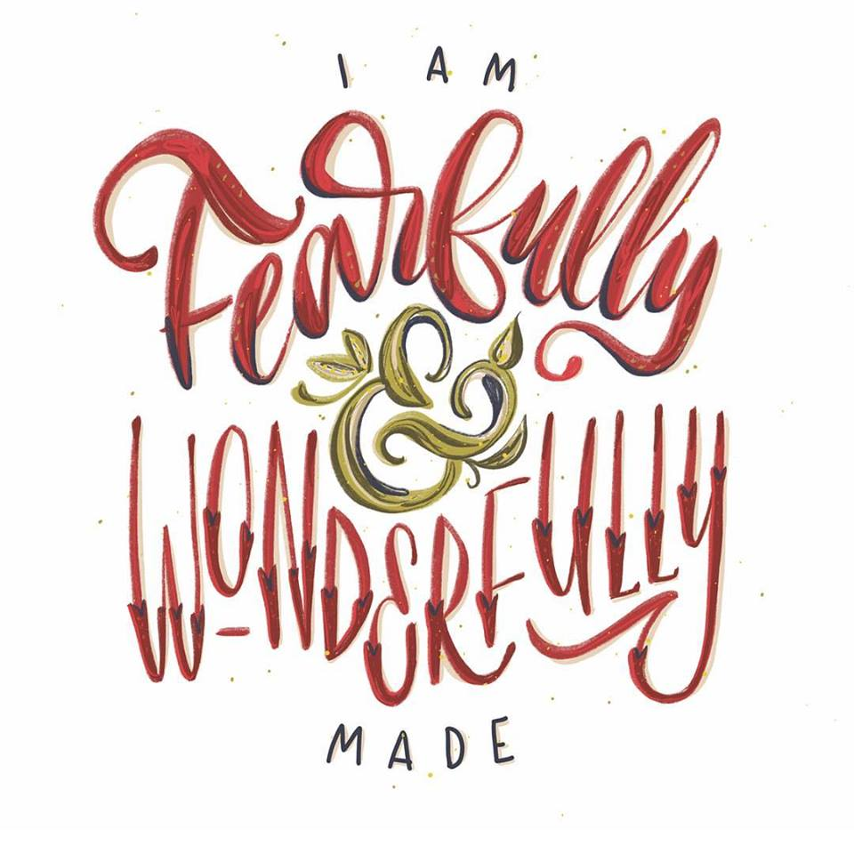 wonderfully made by @clayligraphy ❤️ on Instagram