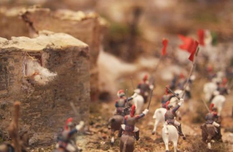 Alamo Diorama by Thomas Feely, Photograph by @sprittibee